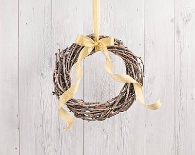 Photograph - Wreath by Ulrich Schade