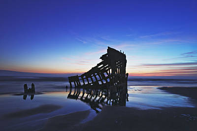 Peter Iredale Photograph - Wreck Of The Peter Iredale-d by John Christopher