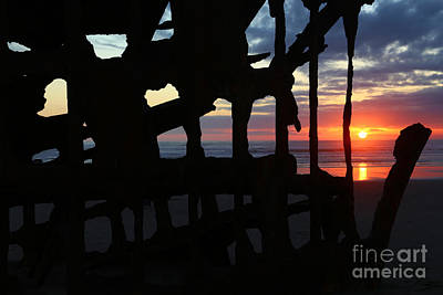 Peter Iredale Photograph - Wreck Of The Peter Iredale by Marty Fancy