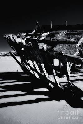 Peter Iredale Photograph - Wreckage by Water Born Studios