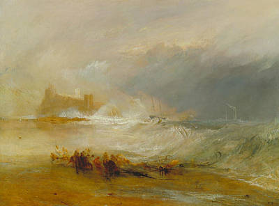 Painting - Wreckers -- Coast Of Northumberland by Joseph Mallord William Turner