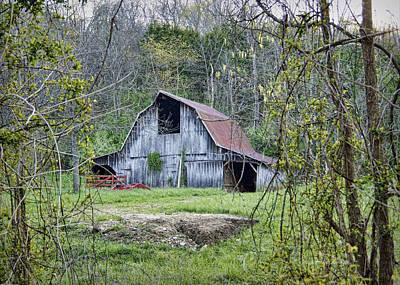 Photograph - Wren School Road Barn by Cricket Hackmann