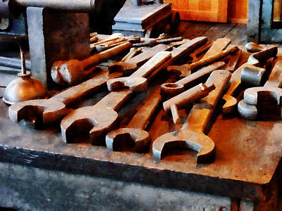 Photograph - Wrenches by Susan Savad