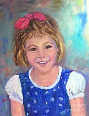 Painting - Wrennie by Patsy Walton