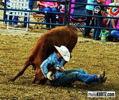 Photograph - Wrestling Struggles by Jeff Kurtz