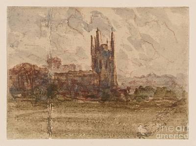 Wrexham Art Print