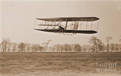 Wright Brothers Flight 85 Art Print