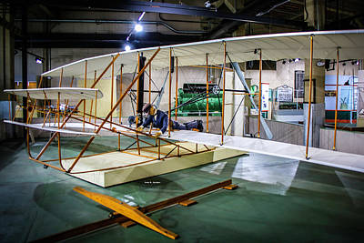 Photograph - Wright Flyer by Dale R Carlson