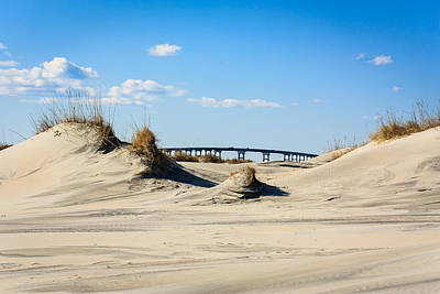 Photograph - Wright Memorial Bridge Through The Sand Hills by Joni Eskridge