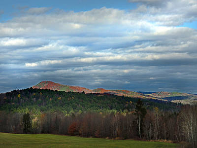 Photograph - Wrights Mountain In Bradford Vermont by Nancy Griswold