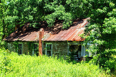Photograph - Wrightsboro Ghost by Newman Artography