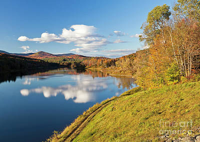 Photograph - Wrightsville Reservoir Fall by Alan L Graham