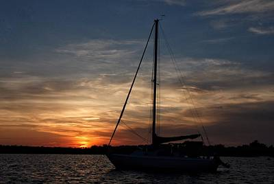 Photograph - Wrightsville Sunset by Chris Berrier