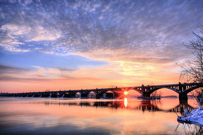 Susquehanna River Photograph - Wrightsville To Columbia by JC Findley