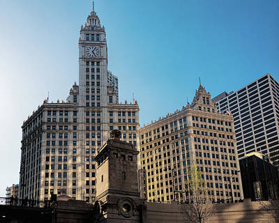 Photograph - Wrigley Building From Chicago River by Jemmy Archer