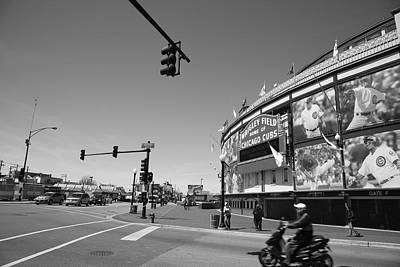 Wrigley Field - Chicago Cubs 19 Art Print by Frank Romeo