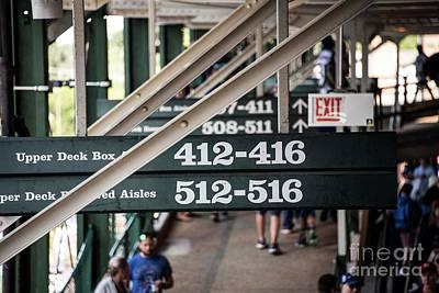 Photograph - Wrigley Field - Chicago Cubs by David Bearden