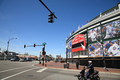 Photograph - Wrigley Field - Chicago Cubs by Frank Romeo