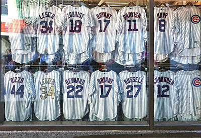 Photograph - Wrigley Field - Home Of The Chicago Cubs # 4 - The Boys Of Summer by Allen Beatty