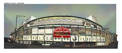 Wrigley Filed Chicago Original