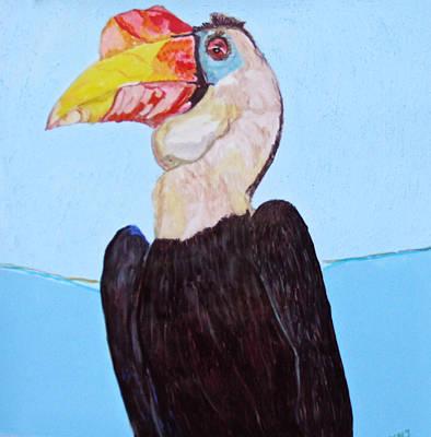 Wrinklebill Art Print