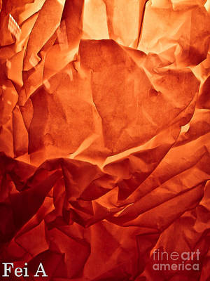 Photograph - Wrinkled Passion by Fei A