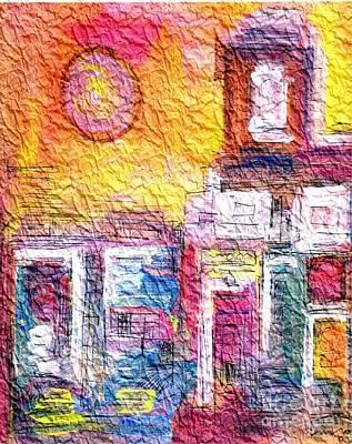 Wrinkled Tissue Paper Art Print by Mimo Krouzian