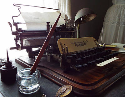 Photograph - Writers Block by Caryl J Bohn