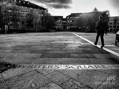 Photograph - Writers' Square, Belfast    by Jim Orr