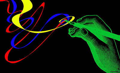 Rhythm And Blues Digital Art - Writing A Love Letter by Sir Josef - Social Critic -  Maha Art