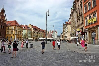 Photograph - Wroclaw-29 by Rezzan Erguvan-Onal