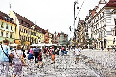 Photograph - Wroclaw-30 by Rezzan Erguvan-Onal