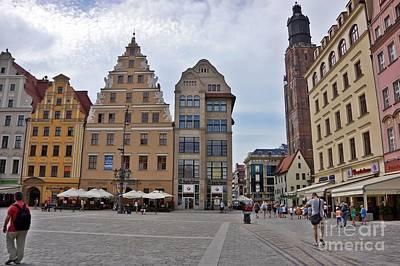 Photograph - Wroclaw-36 by Rezzan Erguvan-Onal