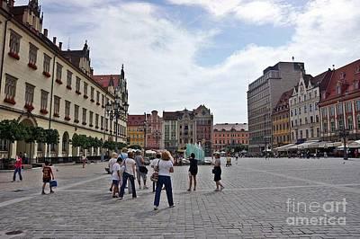 Photograph - Wroclaw-37 by Rezzan Erguvan-Onal