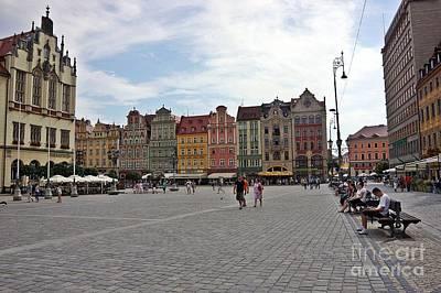 Photograph - Wroclaw-40 by Rezzan Erguvan-Onal