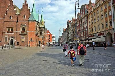 Photograph - Wroclaw-48 by Rezzan Erguvan-Onal