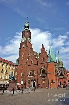 Photograph - Wroclaw-49 by Rezzan Erguvan-Onal