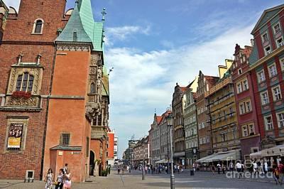 Photograph - Wroclaw-52 by Rezzan Erguvan-Onal