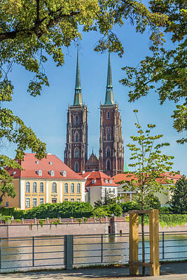 Oder Photograph - Wroclaw Cathedral Of St John The Baptist by Melanie Viola