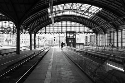 Photograph - Wroclaw Central Railways Station by Dubi Roman