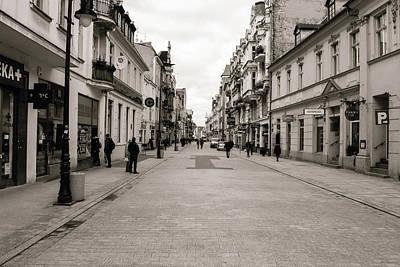 Photograph - Wroclawska Street Poznan Poland by Jacek Wojnarowski