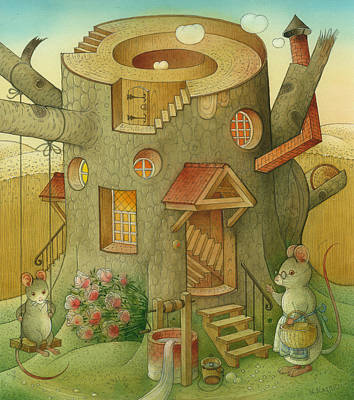 Wrong World Art Print by Kestutis Kasparavicius