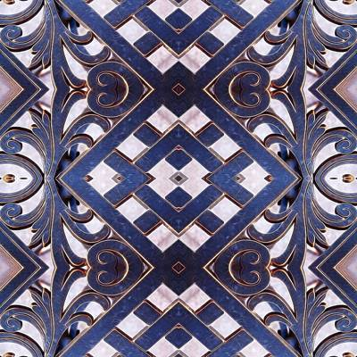 Geometric Photograph - Wrought Iron No. 4 by Sandy Taylor