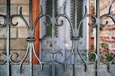 Antique Ironwork Photograph - Wrought Iron by Elena Elisseeva