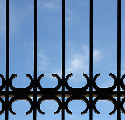 Photograph - Wrought Iron Gate by Joe Kozlowski