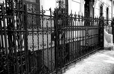 Photograph - Wrought Iron In Greenwich Village by John Rizzuto