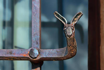Wrought Iron - Jackrabbit Art Print