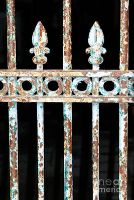 Wrought Iron New Orleans Art Print