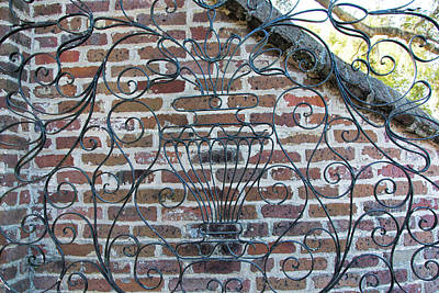 Photograph - Wrought Iron Welcome by Ed Waldrop