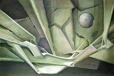 Cosmos Painting - Ws1986dc023 La Llegada Del Planeta Venus by Alfredo Da Silva